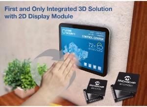 2D/3D Touch e Gesture Development Kit  - Microchip