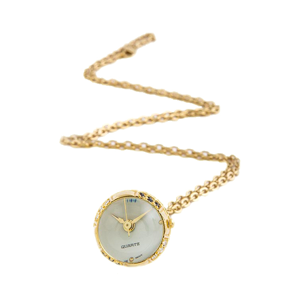 Bottom of the Hour Necklace