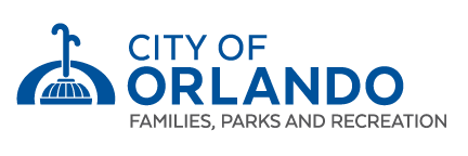 City of Orlando Families Parks and Recreation Logo