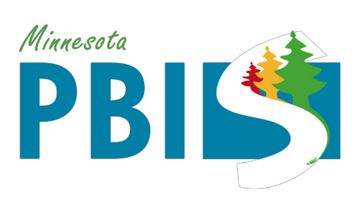 Our Minnesota PBIS Logo has green scripted letters for