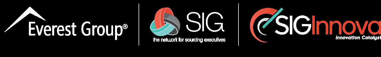 Everest Group - SIG - SIGInnova logos
