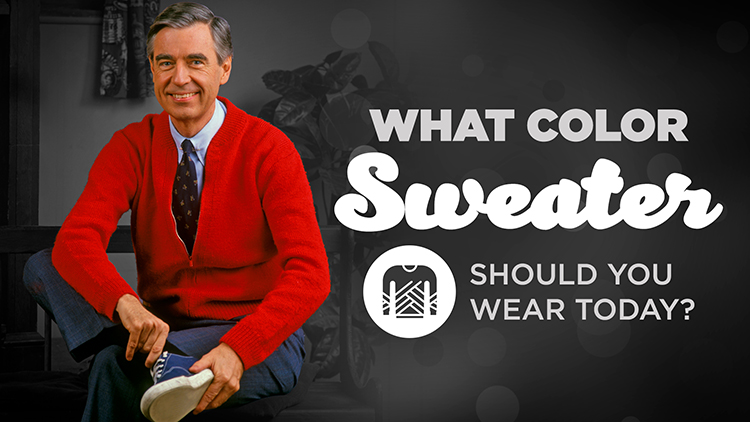 3933831e47d Mister Rogers Style: What Color Sweater Should You Wear? | Blog ...