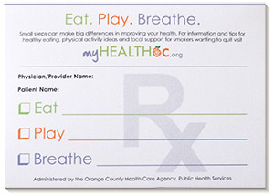Prescription Pad - click image for a larger view
