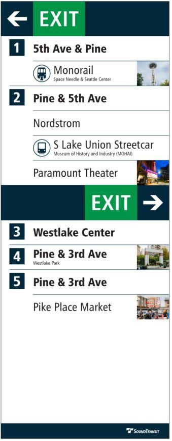 Westlake Station Directory