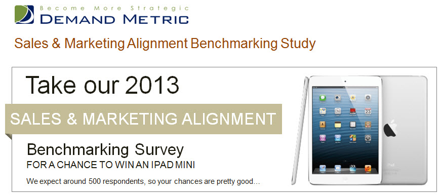 sales and marketing alignment study