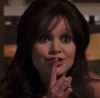 Miss Caruso (Madeline Smith)
