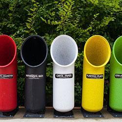 Proponer un nuevo diseño para los basureros de reciclables, para facilitar su uso.