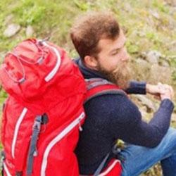 Masterfully pack anything you could need in your new backpack.