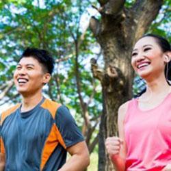 É hora de criar um grupo de amigos para fazer exercícios!