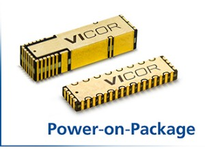 Power-on-Package - Vicor