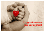 Congratulations on your new addition!