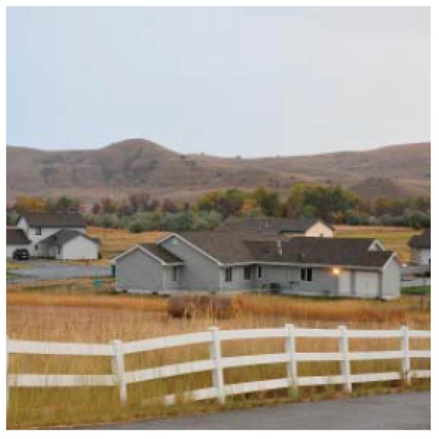 Lower density residential