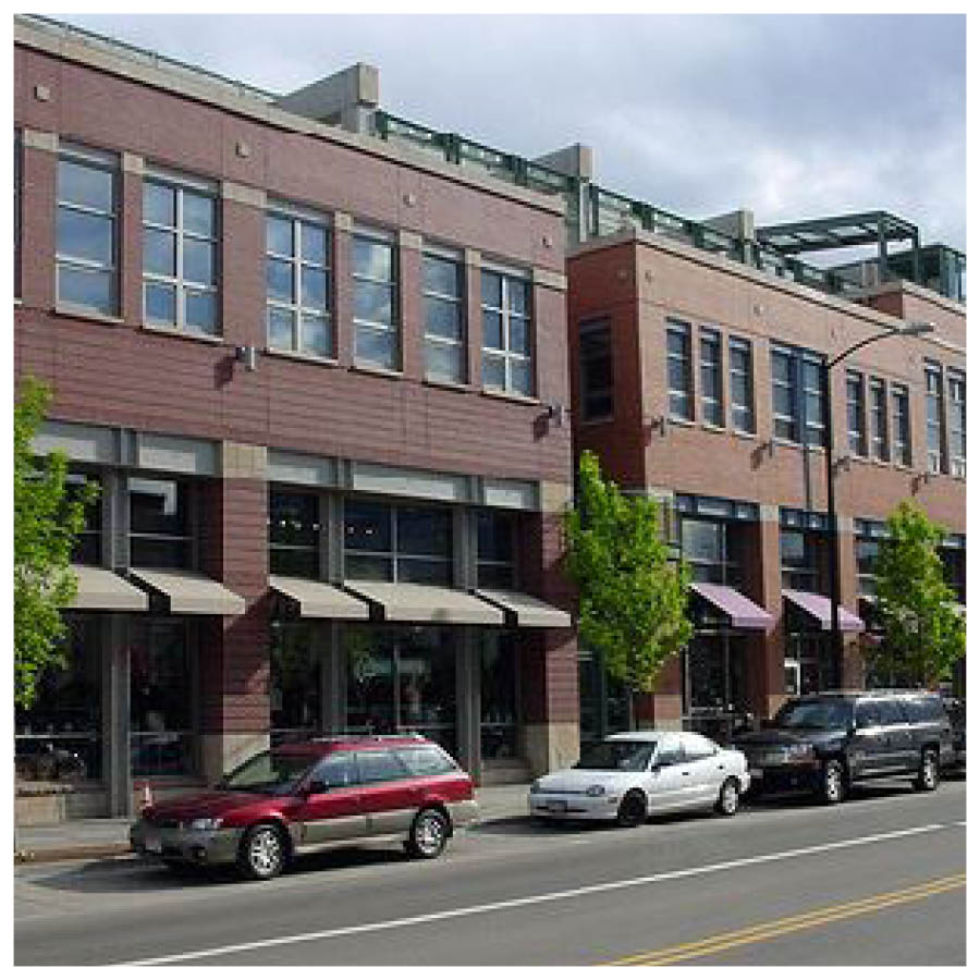 Commercial/ mixed use (i.e. 2- to 3-story mixed use, retail, office, and residential)