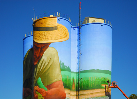 Leveraging art to highlight our agricultural heritage.