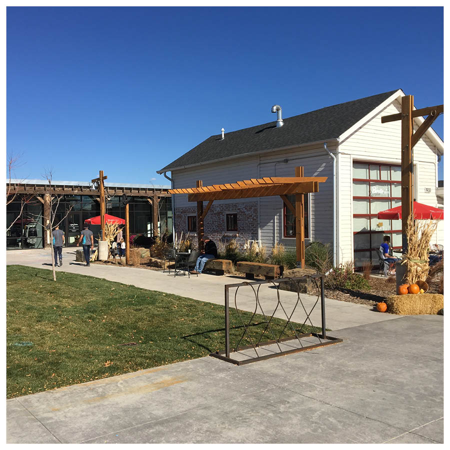 Agriculturally inspired commercial/retail
