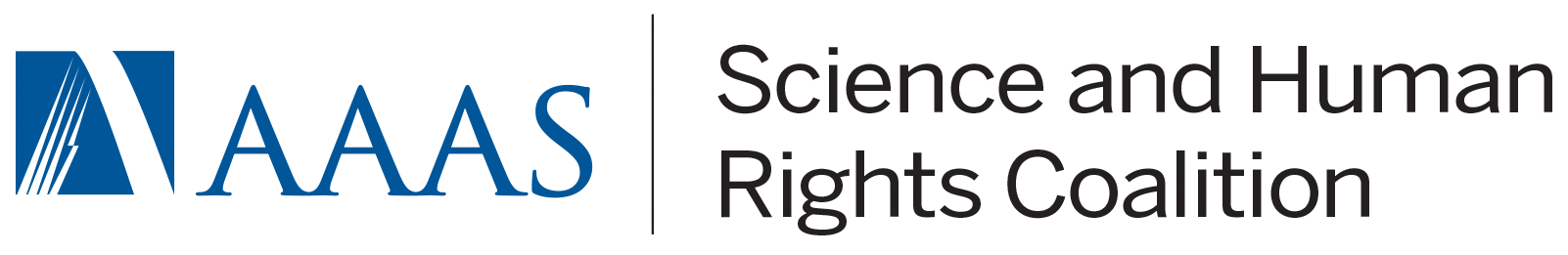 Logo of the AAAS Science and Human Rights Coalition. Click to learn more.