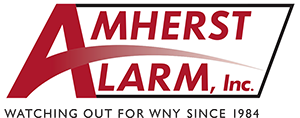 "Thank you for choosing Amherst Alarm! Please take a moment to share with us how we did and enter for a chance to win ""Dinner On Us""."