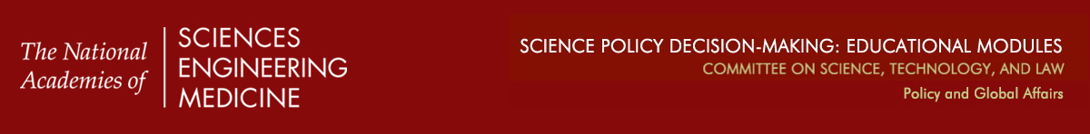 Science-Policy Decision Making: Educational Modules