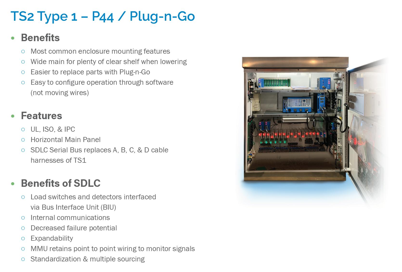 TS2 Type 1 – P44 / Plug-n-Go