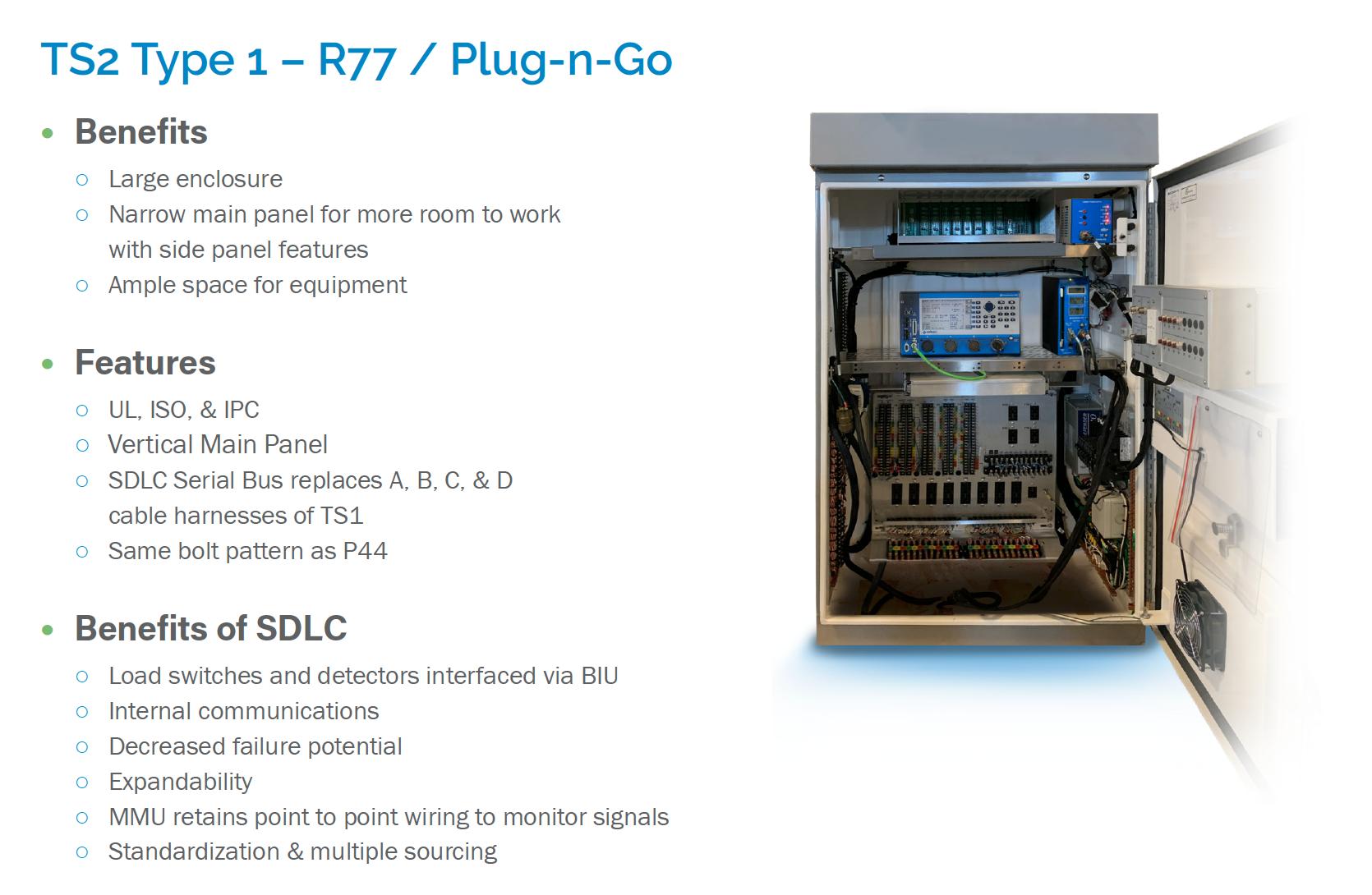 TS2 Type 1 – R77 / Plug-n-Go