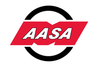 AASA Logo - White R