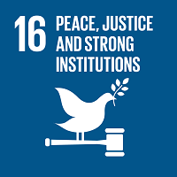 Goal 16 - Promote peaceful and inclusive societies for sustainable development, provide access to justice for all and build effective, accountable and inclusive institutions at all levels
