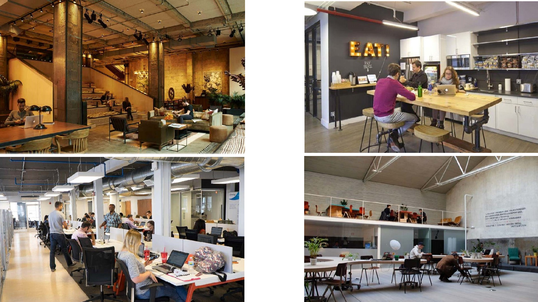 Example Coworking Spaces