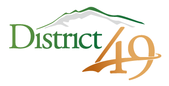 District 49 logo