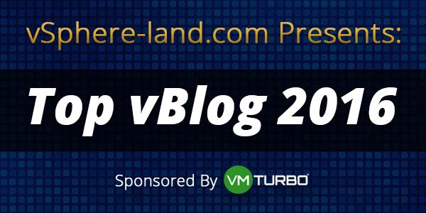 Top vBlog 2016
