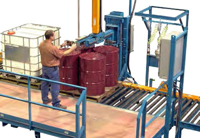 Palletized Drum & IBC Filling System