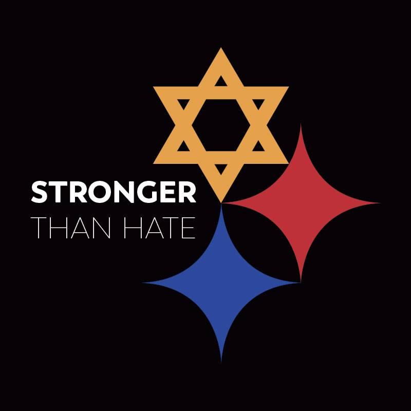 stronger than hate logo