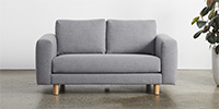2 Seater - Brushtail Grey