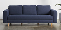 3 Seater - Midnight Blue