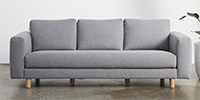 3 Seater - Brushtail Grey