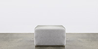 Sofa Bed Footrest - Lunar Grey