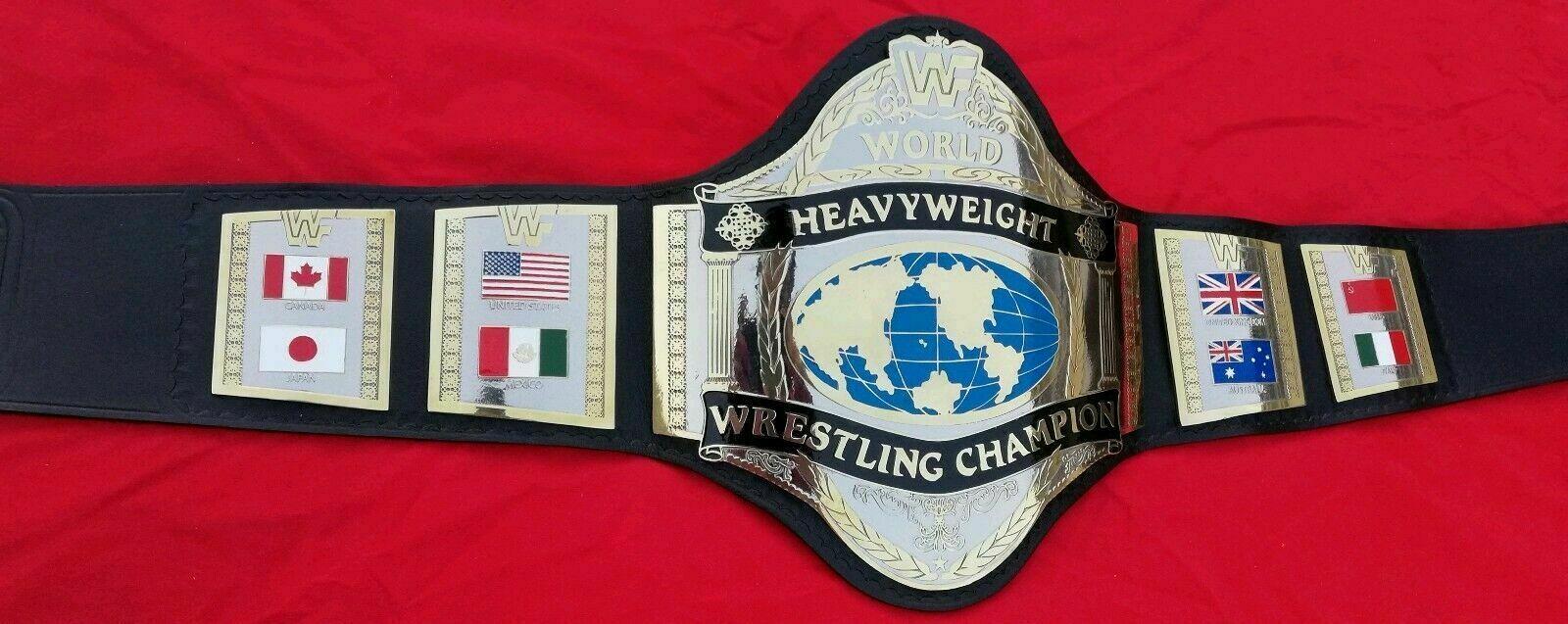 WWF Hulk Hogan 86 World Heavyweight Championship Belt - $325