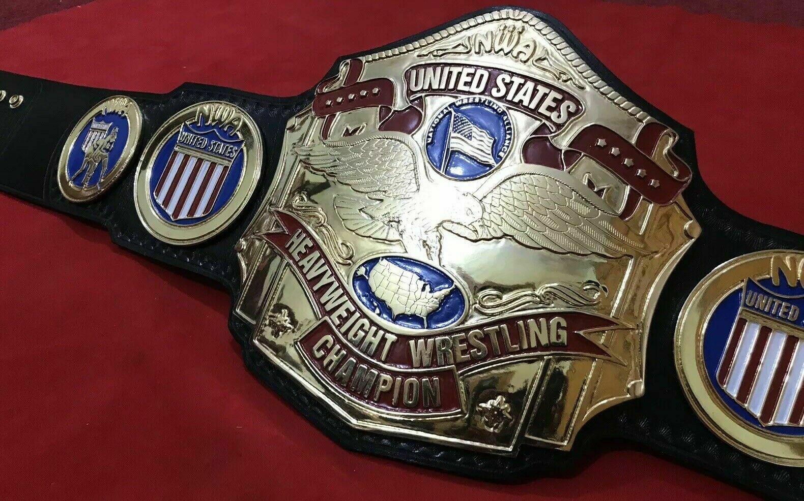NWA United States Heavyweight Wrestling Championship Belt - $325