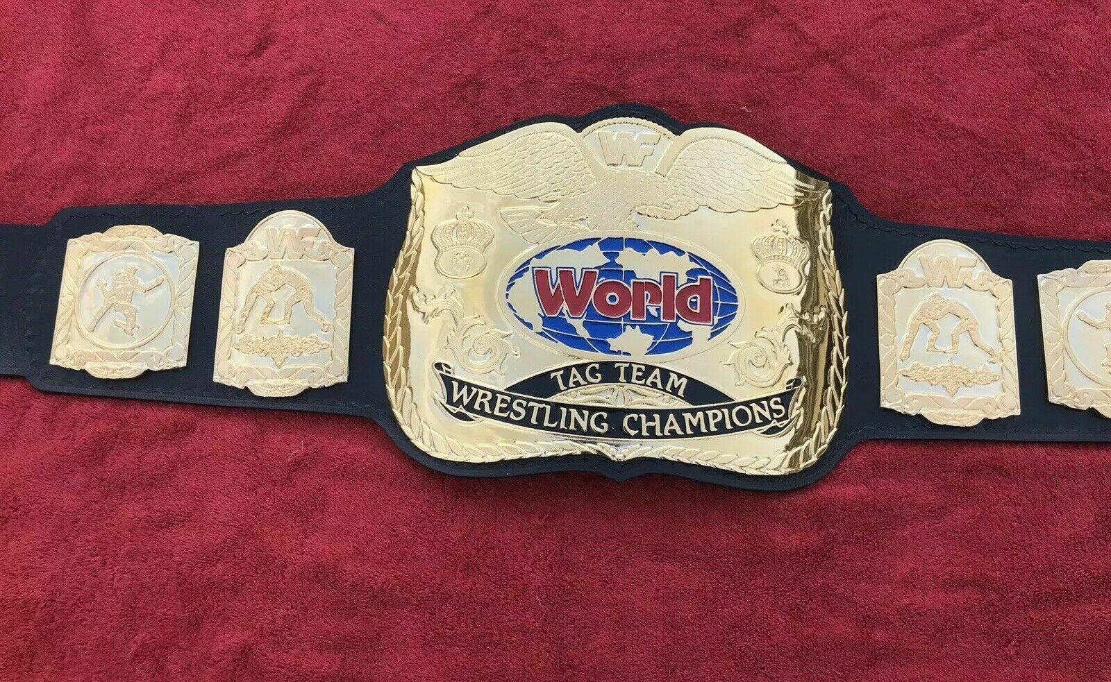 WWF World Tag Team Wrestling Championship Belt - $325