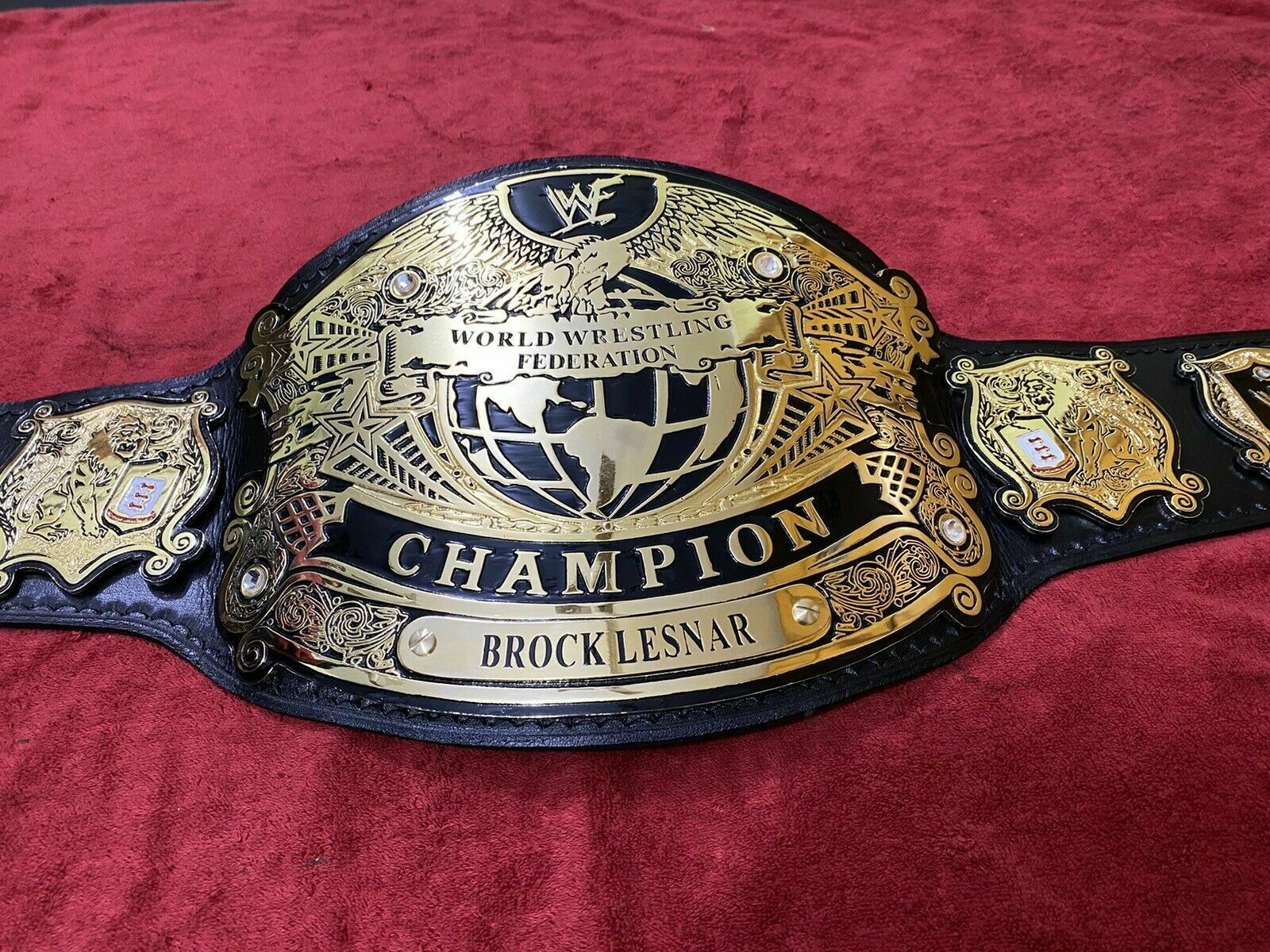WWF Undisputed Championship Belt (version 1 Belt) - $325