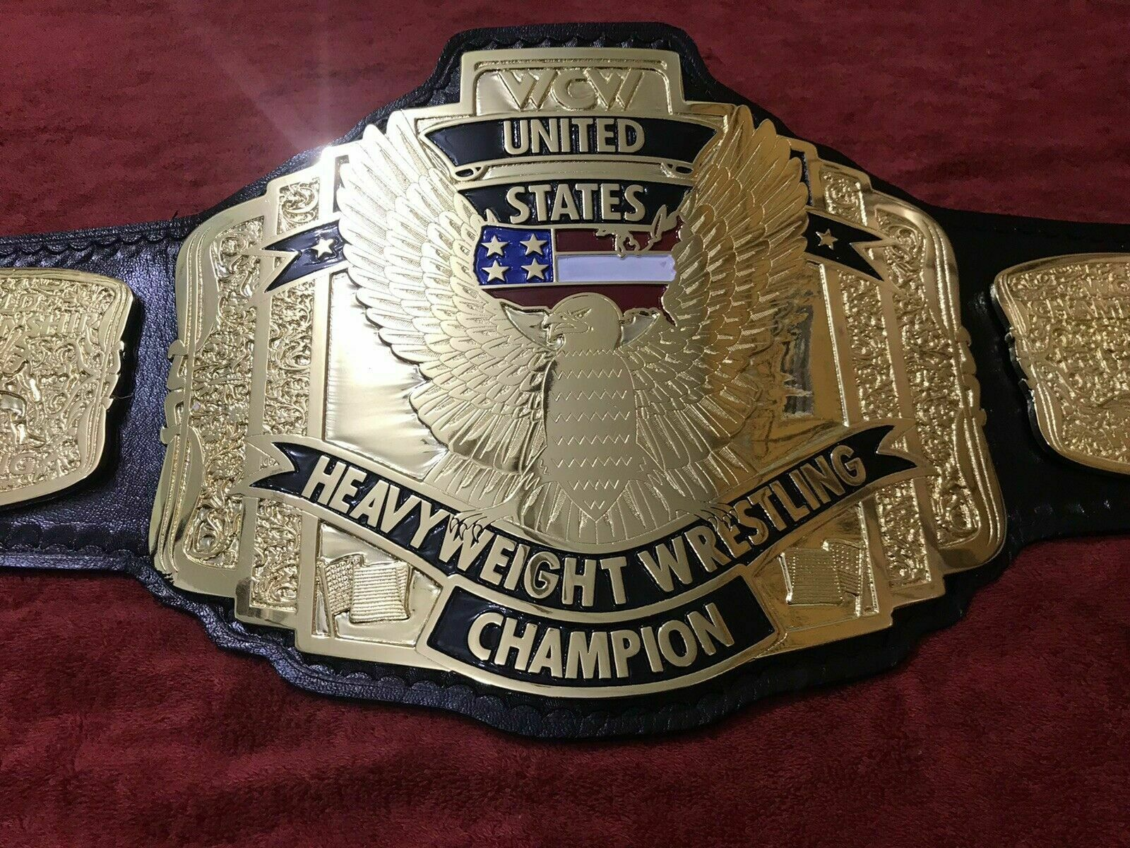WCW United States Heavyweight Wrestling Championship Belt - $325