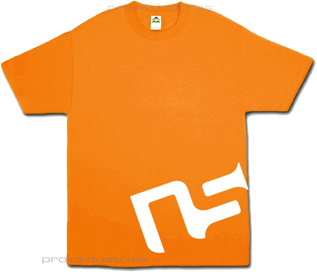 White OG Logo/Orange
